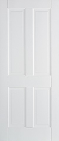 LPD Canterbury 4P Primed White Solid Internal Door