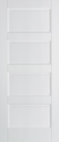 LPD Contemporary 4P Solid White Primed Internal Door