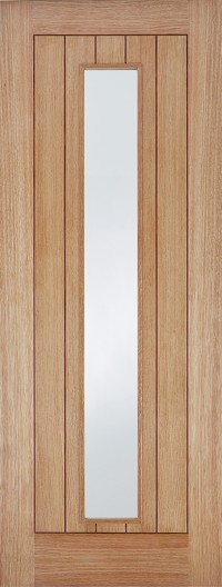 LPD Somerset Glazed (semi solid core) Pre-Finished Oak Internal Door