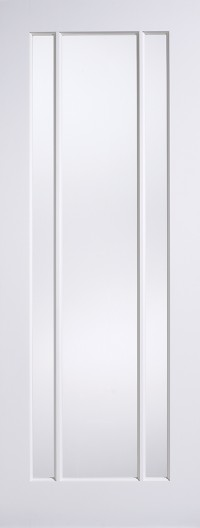 LPD Lincoln Glazed Solid White Primed Internal Door