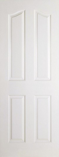 LPD Mayfair 4P White Moulded Internal Door