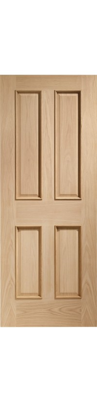XL Joinery Victorian 4 Panel With Raised Mouldings Internal Oak Door