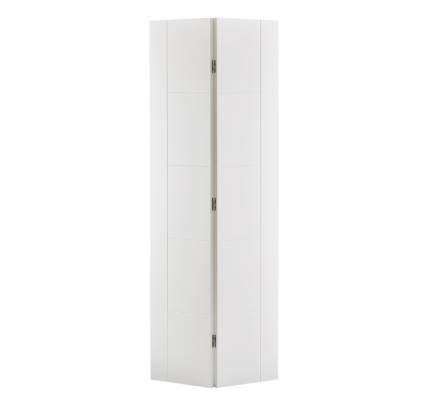 LPD Vancouver Bi-fold Internal White Primed Internal Doors