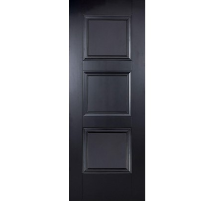 LPD Amsterdam Black Primed Internal Fire Door