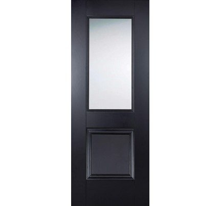 LPD Arnhem Black Glazed Primed Internal Door