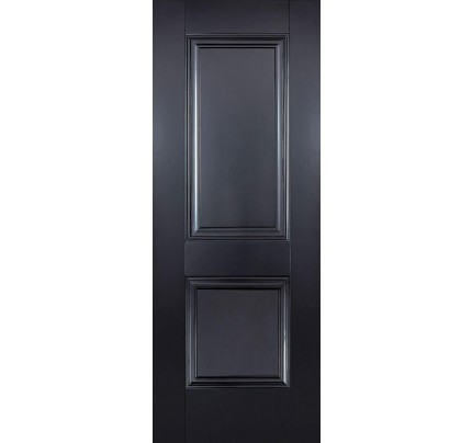 LPD Arnhem Black Primed Internal Door