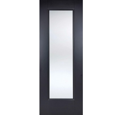 LPD Eindhoven Black Glazed Primed Internal Door