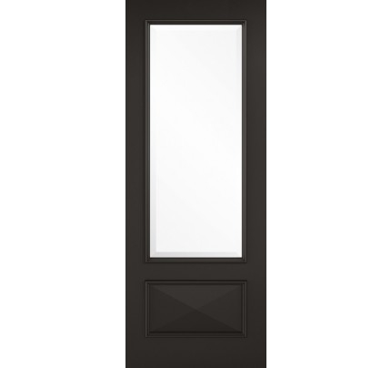 LPD Knightsbridge 1L Primed Plus Black Doors 686 x 1981
