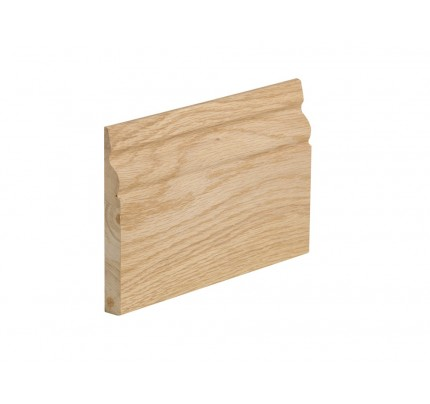 XL Joinery Ogee Pre-Finished Int Oak Skirting Set Ogee Profile 5x3m - 3000 x 146 x 18mm