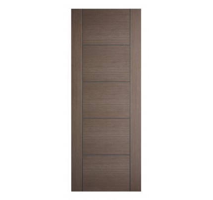 LPD Vancouver 5P Chocolate Grey Pre-Finished Internal Fire Door