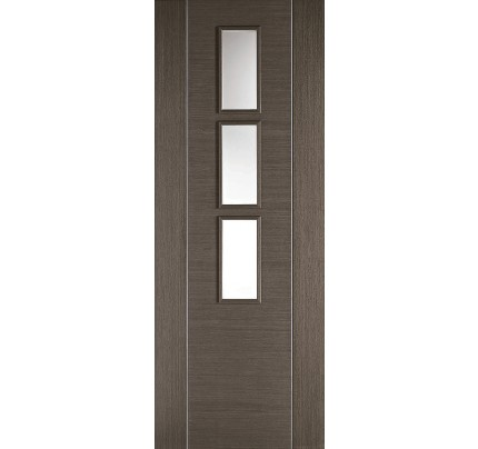 LPD Alcaraz Glazed Chocolate Grey Pre-Finished Internal Door