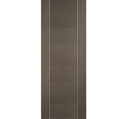 LPD Alcaraz Chocolate Grey Pre-Finished Internal Fire Door