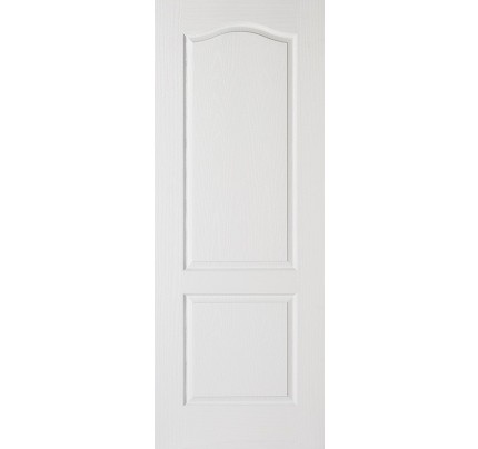 LPD Classical 2P White Moulded Internal Fire Door