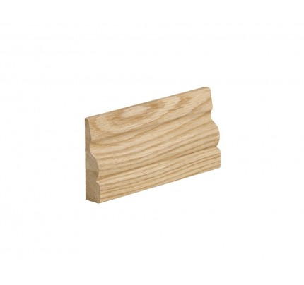 XL Joinery Ogee Oak Architrave Pre-Finished Profile - 2133 x 70 x 18mm