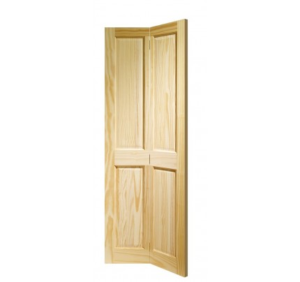 XL Joinery Victorian 4 Panel Bi-fold Internal Clear Pine Door