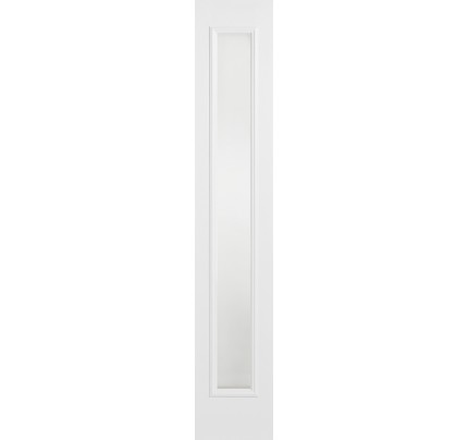 LPD GRP Composite White Frosted Glazed External Sidelight
