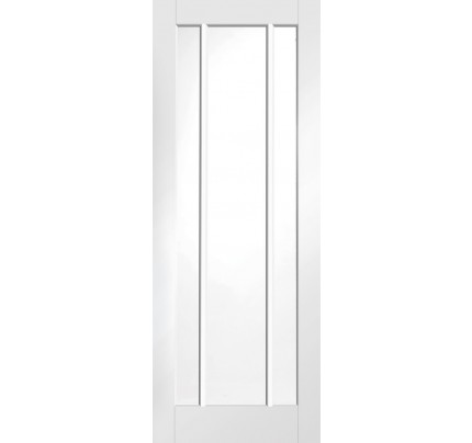 XL Joinery Worcester Internal White Primed Fire Door with Clear Glass - 1981 x 838 x 44mm