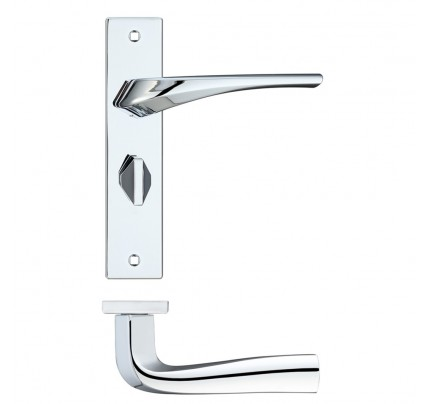 LPD Dorado Hardware Privacy Pack Polished Chrome Handle-230 x 160 mm