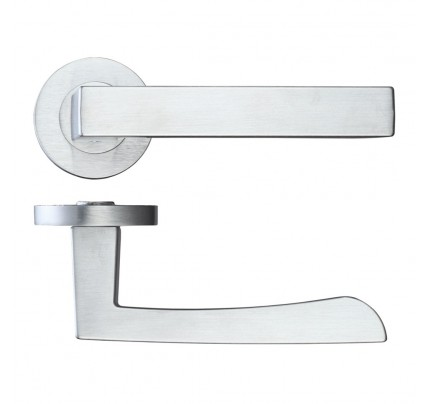 LPD Fornax Hardware Pack Satin Chrome Handle-230 x 160 mm