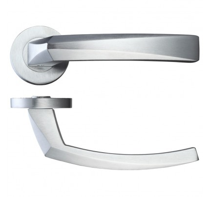 LPD Hercules Hardware Pack Satin Chrome Handle-230 x 160 mm