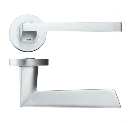LPD Lyra Hardware Pack Satin Chrome Handle-230 x 160 mm