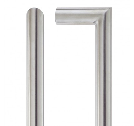 LPD Vela Hardware Pack Satin Chrome Handle-230 x 160 mm