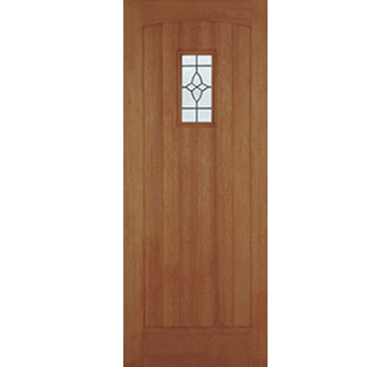 LPD Cottage Hardwood Lead Doubled Glazed Un-Finished External Door