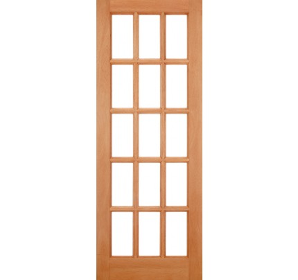 LPD SA Hardwood M&T Un-Finished External Door