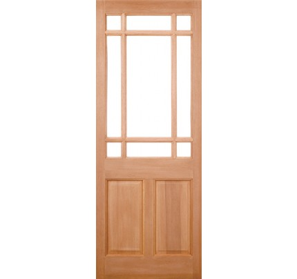 LPD Warwick M&T Hardwood Un-Finished External Door
