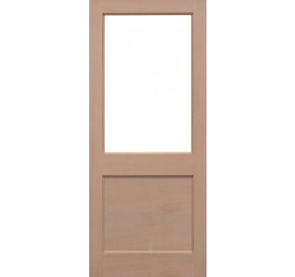 LPD 2XG Hemlock Un-Finished External Door