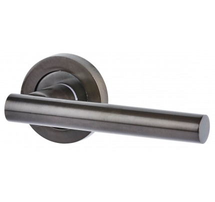 LPD Ironmongery Hyperion Pre-Finished Dark Bronze Handle Hardware Pack 230 x 160 mm