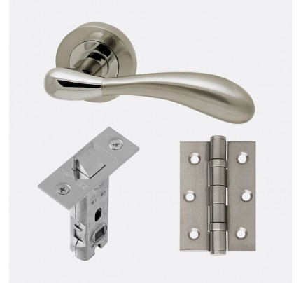 LPD Venus Polished Chrome & Satin Nickel Handle Pack