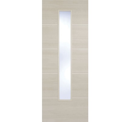 LPD Santandor Ivory Glazed Laminate Pre-finished Internal Door
