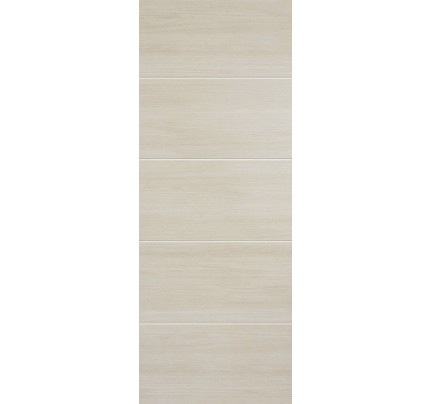 LPD Santandor Ivory Laminate Pre-finished Internal Fire Door