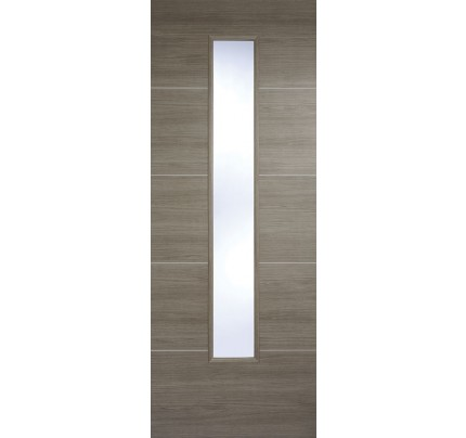 LPD Santandor Light Grey Glazed Laminate Pre-finished Internal Door