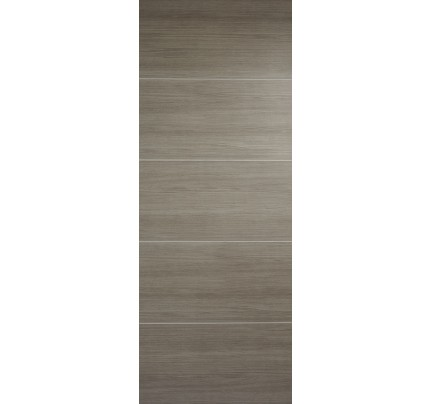 LPD Santandor Light Grey Laminate Pre-finished Internal Fire Door