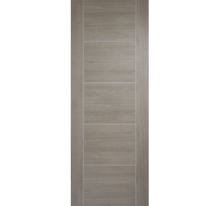 LPD Vancouver 5P Light Grey Pre-Finished Internal Fire Door