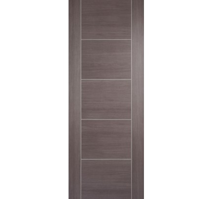 LPD Vancouver Medium Grey Laminate Pre-finished Internal Door