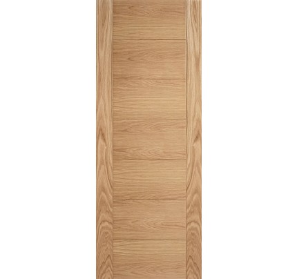 LPD Carini 7P Oak Pre-Finished Internal Fire Door