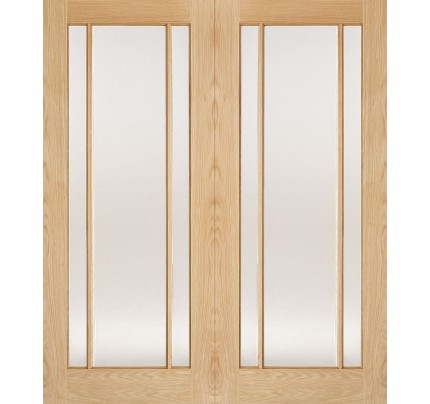 LPD Lincoln Internal Oak French Pairs & Room Dividers