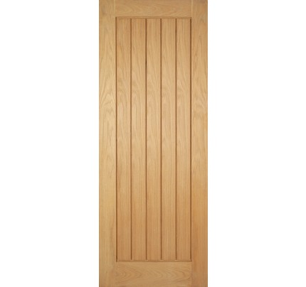 LPD Mexicano Pre-Finished Oak Internal Fire Door