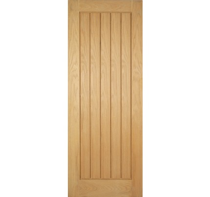 LPD Mexicano Oak Un-Finished Internal Fire Door
