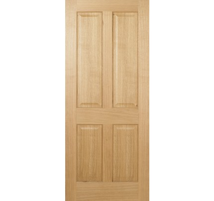 LPD Regency 4P Pre-Finished Oak Internal Fire Door