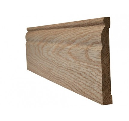 LPD Oak Veneered Skirting Ogee Internal Frames & Mouldings