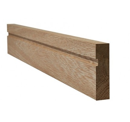 LPD Oak Veneered Architrave Single Groove Internal Frames & Mouldings 2200 x 70 mm