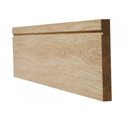 LPD Oak Veneered Skirting Single Groove Internal Frames & Mouldings