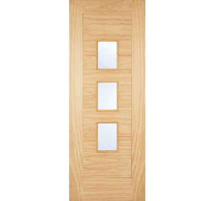LPD Arta (Part L Compliant) Unfinished Oak External Door