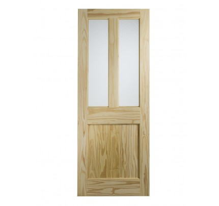 XL Joinery Malton External Clear Pine Door with Flemish Glass