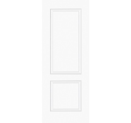 LPD Bruges 2PWhite Moulded Smooth Internal Doors