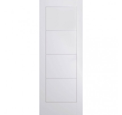 LPD Ladder Primed White Door 610X1981X35mm